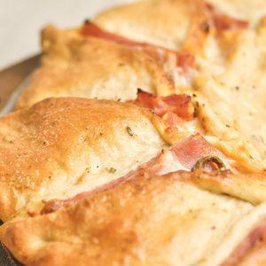 Pizza Girasol de Pollo con huevo