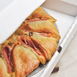 Pizza Girasol de Atún con aceitunas
